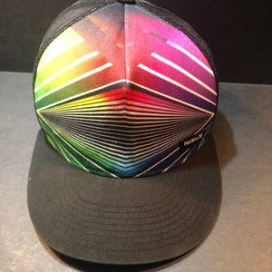 Hurley multi-colored SnapBack hat